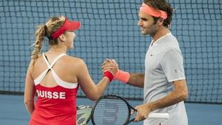 Federer e Bencic cun victorias a Perth