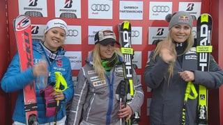 So lief der Super-G der Frauen in Garmisch-Partenkirchen