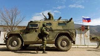 Russische Truppen an ukrainischer Grenze sorgen für Spannungen