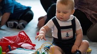 Baby George: So klein und schon ein Fashion-Vorbild