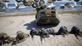 USA und Südkorea proben Angriff auf Nordkorea