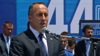 Politisches Erdbeben im Kosovo