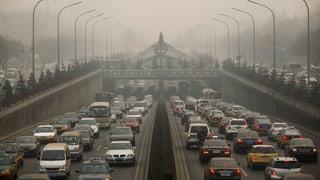 China will Smog-Glocke endlich loswerden