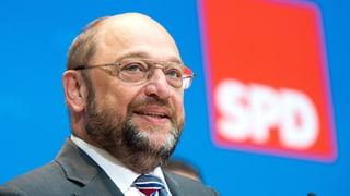 SPD setzt auf Martin Schulz