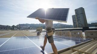 Strategia d'energia 2050 è pronta per votaziun finala