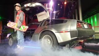 Zurück in die Zukunft: Roland Hirters echter DeLorean  (Artikel enthält Bildergalerie)