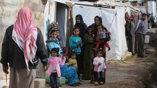 Über eine Million Syrer auf der Flucht
