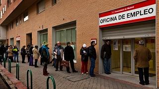 Arbeitslosigkeit bleibt in Eurozone hoch