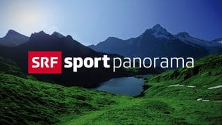 Video «Motorrad, Eishockey, Fussball und Studiogast Roger Federer» abspielen