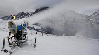 Schneekanonen sind im Kanton Bern «salonfähig»