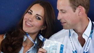 William und Kate ohne George: Für einmal sind sie die Kindsköpfe
