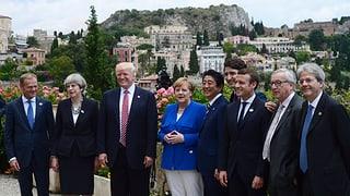 Inscunter da G7 finescha probablamain en charplina cun Trump