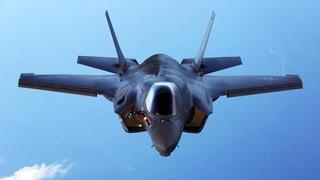 Bei der Evaluation eines neuen Kampfjets soll auch das US-Modell F-35 miteinbezogen werden. Doch es gibt Bedenken bezüglich der Bordsysteme.