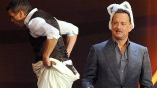 «Wetten, dass..?»: Lanz reagiert gelassen auf Hanks' Lästereien