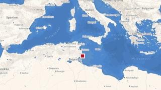 Mindestens 46 Flüchtlinge vor Tunesien ertrunken