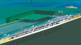 Luzerner Kantonsrat macht Druck für Durchgangsbahnhof