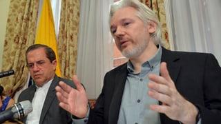 Schwedischer Haftbefehl gegen Julian Assange bleibt bestehen