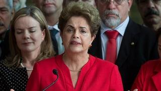 Brasiliens Präsidentin Rousseff des Amtes enthoben