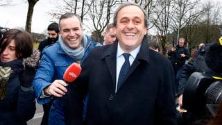 Platini kämpft «gegen die Ungerechtigkeit»