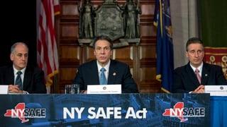 Neue Schiessereien: New York verschärft Waffengesetz