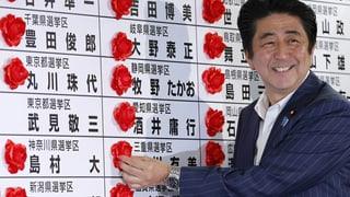 Japan: Klarer Sieg für Präsidenten