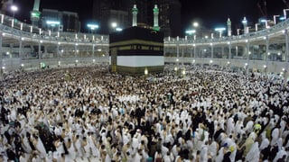 Mekka: Viele Schweizer Muslime müssen draussen bleiben