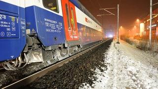 S-Bahnzug im Kanton Zürich entgleist