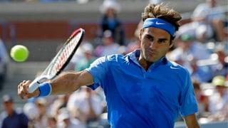 Federer startet ohne Probleme in die US Open