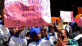 Der vereinte Hass auf Homosexuelle