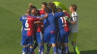 Basel ist zum sechsten Mal in Serie Schweizer Meister