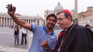 Zu Besuch beim höchsten Schweizer im Vatikan