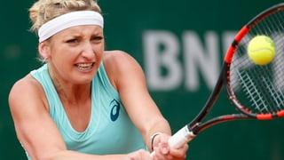 Bacsinszky cumenza French Open senza problems