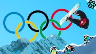 Die 15 Disziplinen der Olympischen Winterspiele