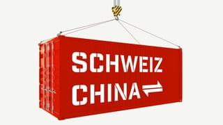 China ist ein wichtiger Handelspartner für die Schweiz. So hat sich das Handelsvolumen mit dem Land seit dem Jahr 2000 entwickelt.