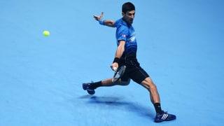 So lief der erste Halbfinal an den ATP Finals