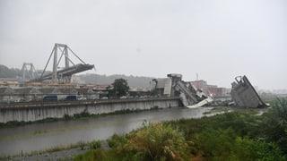 «Der schlechte Zustand des Ponte Morandi war bekannt»