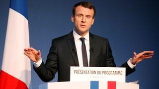 Macron erstmals vor Le Pen