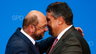#Gabriel macht Schulz Platz – das Netz Witze