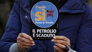 Referendum zu Ölbohrungen in Italien scheitert