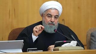 Irans Präsident äussert sich gemässigt. Das Regime nimmt aber derweil rund 200 Demonstranten fest.