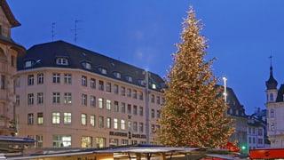 Verschwinden Weihnachtsbäume aus den Basler Aussenquartieren?