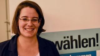 Jeanine Glarner soll für die FDP einen zweiten Sitz holen