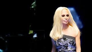 «Donatella Versace vor der Show»
