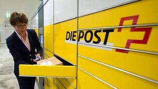 Die Post verdient leicht weniger