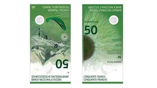 La nova bancnota da 50 vegn l'avrigl