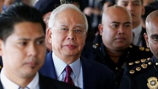 Ex-Regierungschef Najib Razak angeklagt