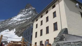 Topmoderne Herberge am Fuss des Matterhorns