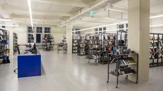 Der provisorische Standort der Kantons- und Stadtbibliothek in der Hauptpost ist ein Erfolg