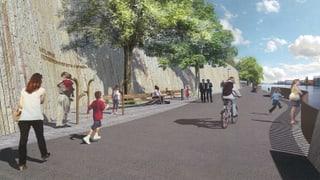 Für neue Rheinuferpromenade können bald Bagger auffahren