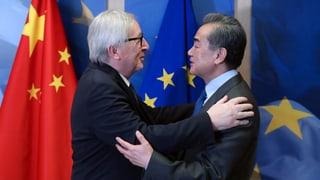 Chinas Avancen spalten die EU